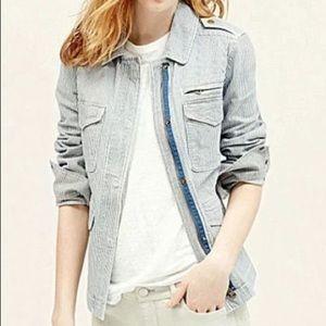 LOFT Women's Railroad Stripe Jacket